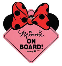 amazon disney minnie mouse board sign baby