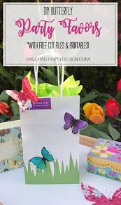 diy butterfly party favor free printable halfpint party design