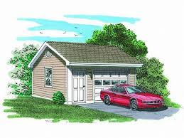 how many square feet is a 1 car garage 1 car garage plans detached one car garage plan 033g 0012 at