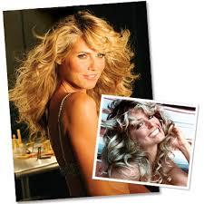 farrah fawcett hair color stars who love farrah s famous hairstyles instyle com