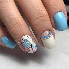 53 awesome blue nail art designs ideas