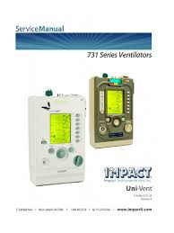 impact 731 vent service manual battery electricity battery