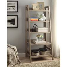 linon dublin ladder bookcase by linon compact shelves and storage