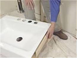 install an apron front sink in a butcher block countertop how