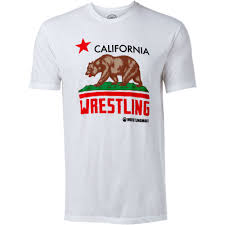 Flag T Shirt California Wrestling Flag T Shirt Apparel Wrestlingmart Free