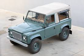 old land rover defender restored land rover defender is perfect for playtime columnm