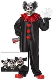 Kids Scary Halloween Costume Laugh Clown Costume Scary Clown Halloween Costumes