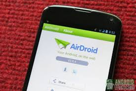 android remote access airdroid your android device from a pc