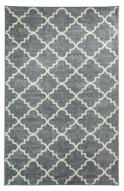 charlton home orwin fancy trellis gray white area rug u0026 reviews