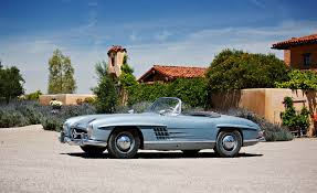 mercedes auction original owner 1950s mercedes 300sl gullwing and roadster at