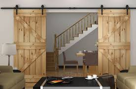 Diyhd 8ft 10ft Sliding Barn Door Track Hardware Double Interior
