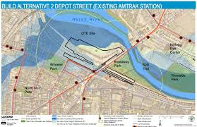 Amtrak Stations Map by Emails Shed Some Light On Ann Arbor Train Station Project Delays