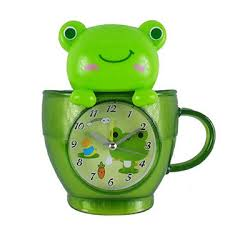 Frog Desk Accessories China Promotional Desk Clock In Frog Design Various Colors Are