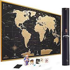 map of us states poster mymap gold scratch world map wall poster with us