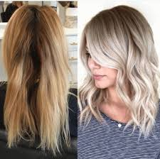 twisted sombre hair from brass to low maintenance ash sombre career habit salon