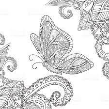 coloring pages for adultshenna mehndi doodles abstract floral