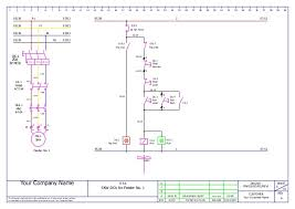mcc panel wiring ga and bom sample