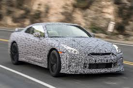 gtr nissan 2018 spy shots reveal 2017 nissan gt r during tests in california