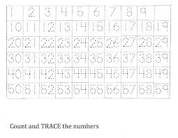 all worksheets free number tracing worksheets 1 20 printable