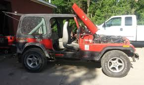 94 jeep wrangler for sale 91 jeep wrangler yj 5 speed manual 4 cyl project top