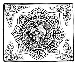 printable coloring pages adults 7 asian traditional art