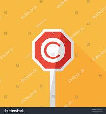letter c copyright register icon vector stock vector 683880595