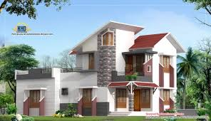 delightful 2d elevations modren houses interior design ideas