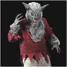 Werewolf Costume Deluxe Grey Werewolf Halloween Mask Halloween Costume Mad