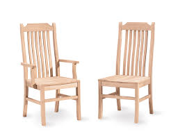 unfinished wood dining chairs unfinished wood dining table and