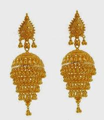 gold jhumka earring designs jpg 1377 1583 jumka jimki designs