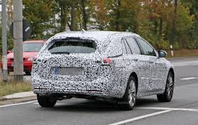 opel insignia wagon trunk buick regal wagon previewed in opel insignia sports tourer spy