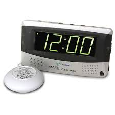 Clock Made Of Clocks Alarm Clocks For Deaf And Hard Of Hearing Vibrating Loud Alarm