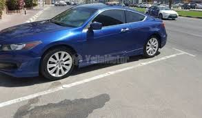 honda accord coupe 2009 used honda accord coupe 2009 car for sale in sharjah 731814