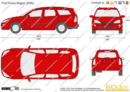 2002 Focus Wagon The Blueprints Com Vector Drawing Ford Focus Wagon