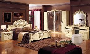 schlafzimmer klassisch komplett schlafzimmer barocco stilmöbel aus italien hochglanz