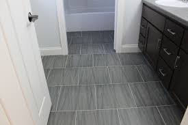Modern Bathroom Plans Top Modern Gray Floor Tile Grey With Regard To Bathroom Plans 19