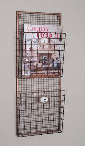 Bathroom Wall Magazine Rack Metal Hanging Magazine Rack Magazines Metals And Salons