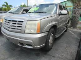 used 2002 cadillac escalade used cadillac escalade for sale in lake worth fl 60 used
