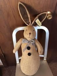 Wooden Decorations For Easter by Detalles Acerca De U0026 Boy Conejo De Pascua De Madera