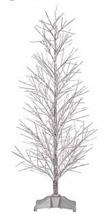 100 artificial white trees target 58