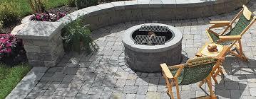 Firepit Kits Scapestone Pit Kit Concrete Patio Pavers Boston Ma
