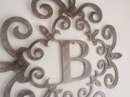 initial home decor fresh metal letters home decor insdecor