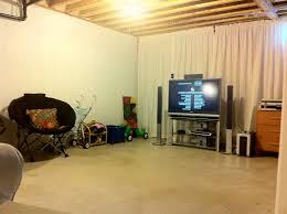 luxury unfinished basement decorating ideas unfinished basement