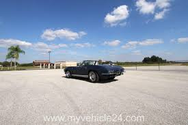 vintage corvette blue 1964 chevrolet corvette c2 sting ray convertible 032