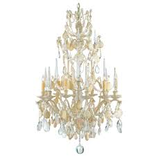 themed chandelier chandeliers design awesome cascading shells chandelier small