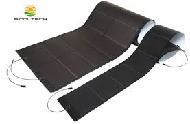 flexible led lighting film china 288w amorphous silicon thin film flexible solar module for led