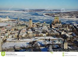 city in winter canada stock image image of matchbox