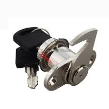 20pcs furniture metal drawer locks blackboard hook lock