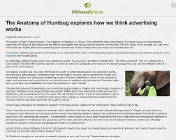 Blind Men And The Elephant Poem The Anatomy Of Humbug How To Think Differently About Advertising