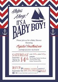 nautical baby shower invitations nautical theme baby shower invitations anchors and ballerina